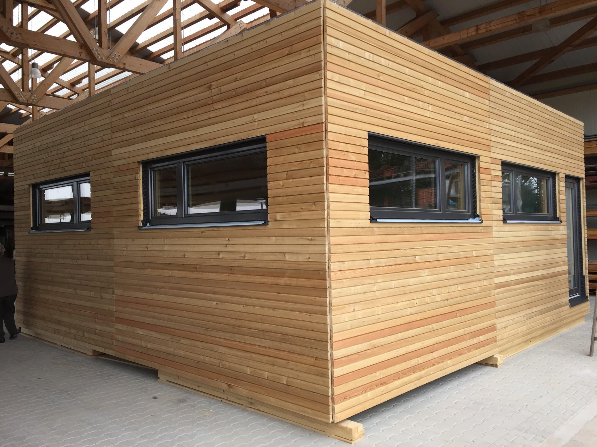 Blickfang Holz Anbau Haus Sammlung Von Im Modernen Holzbau Wird Der Werkstoff So